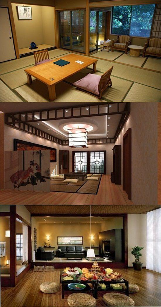 Japanese Interior Design - Stick, Furniture and Accessorize -