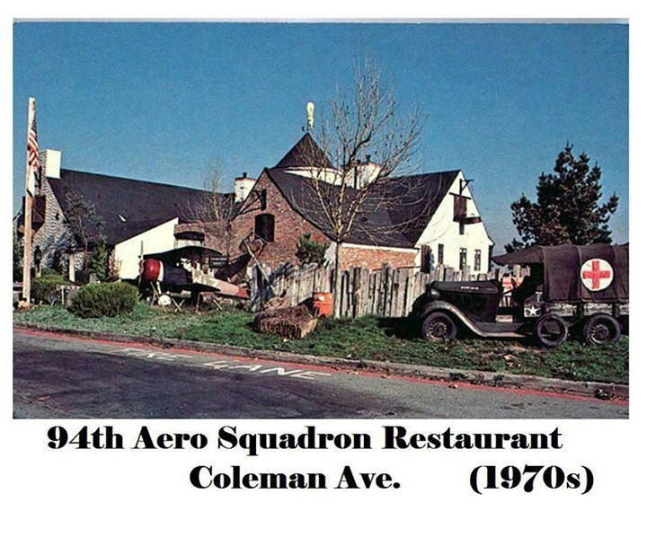 94th Aero Squadron Restaurant Was Located On Coleman Ave In