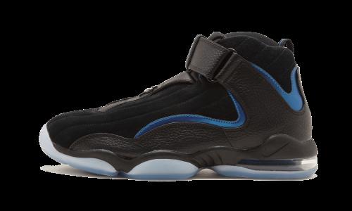 buy online a33ac 91b43 Nike Men's Air Penny IV Black/Black Basketball Shoe 9 Men US ...