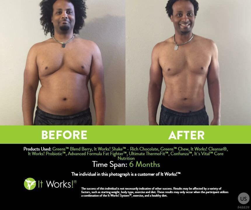 how much weight do you lose with the it works cleanse