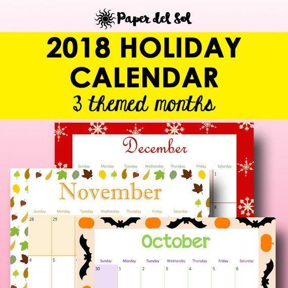 printable calendar 2018 planner printable monthly calendar monthly