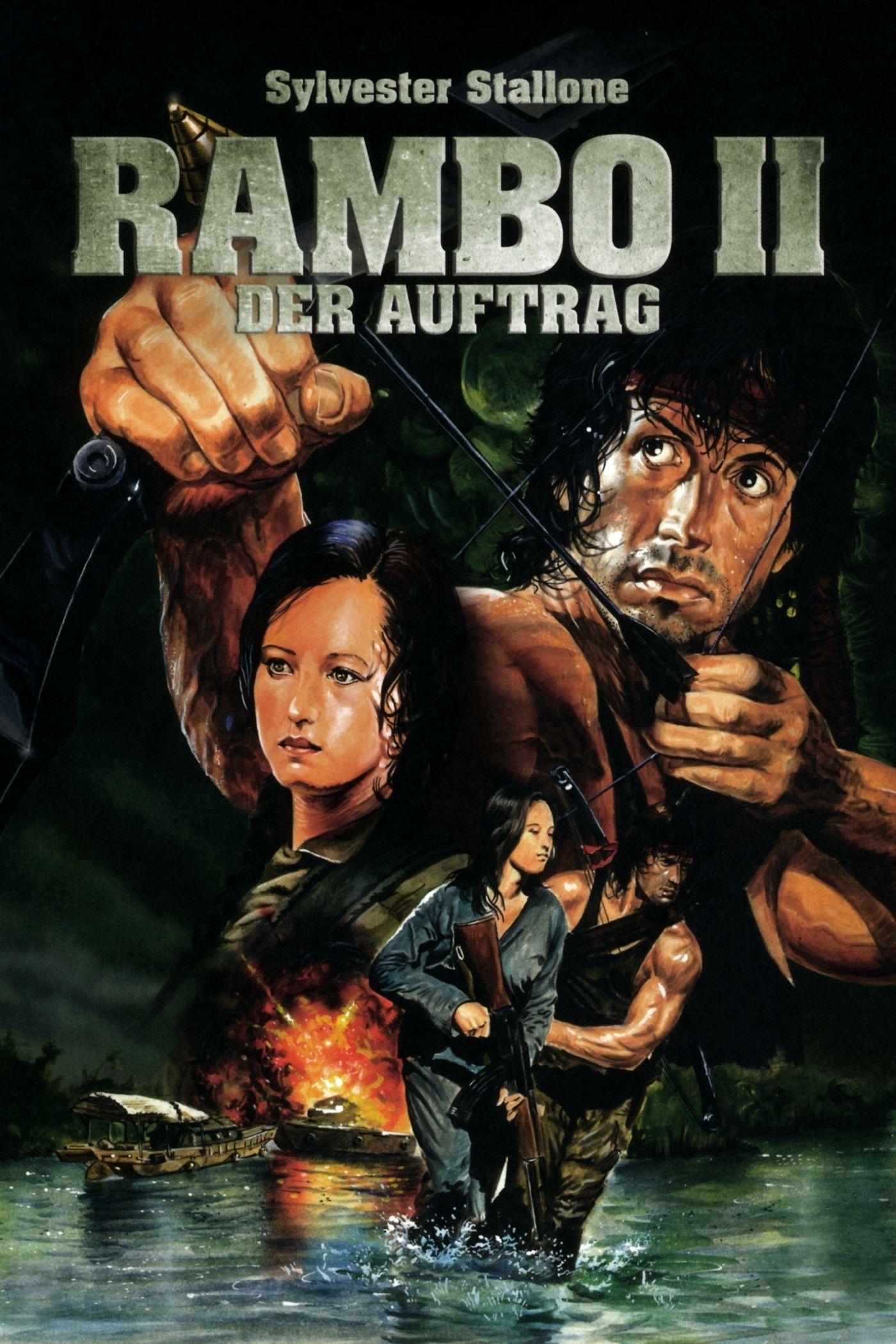Rambo Ii Com Imagens Melhores Filmes Em Cartaz Sylvester
