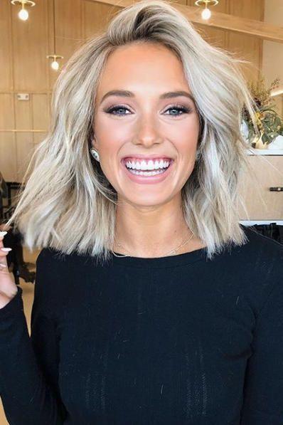 Photo of Beste 55 Bilder von kurzen glatten blonden Haaren #haare #haarschnitt #frisuren …
