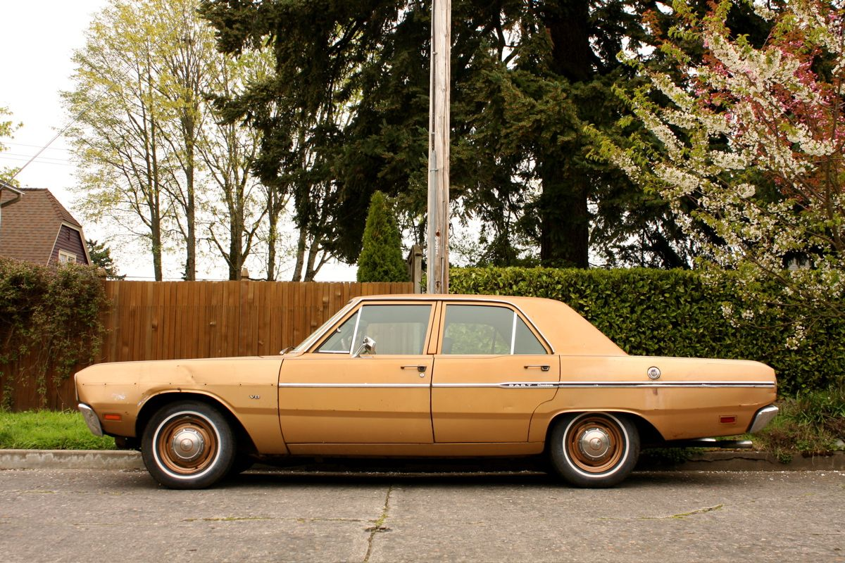 1969 dodge dart custom sedan