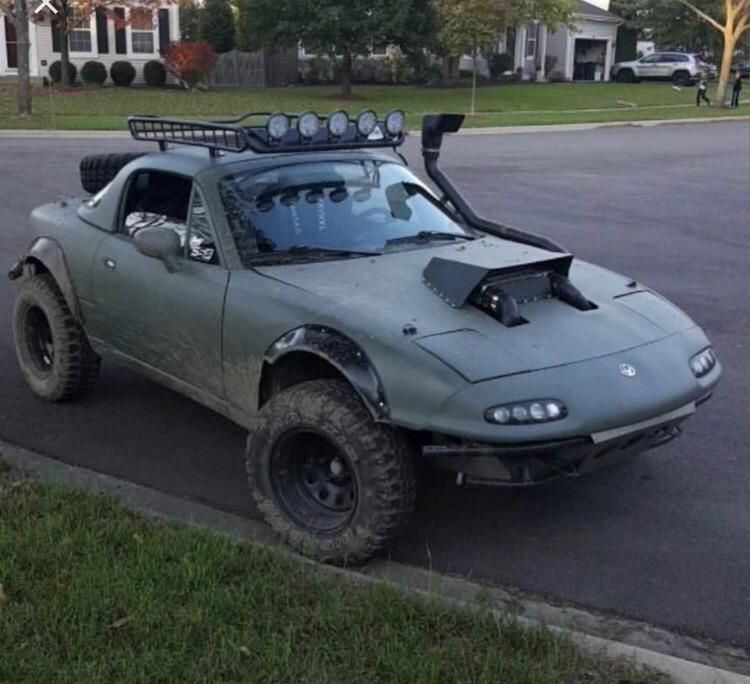 Lifted Cars, Miata, Shtf Vehicle