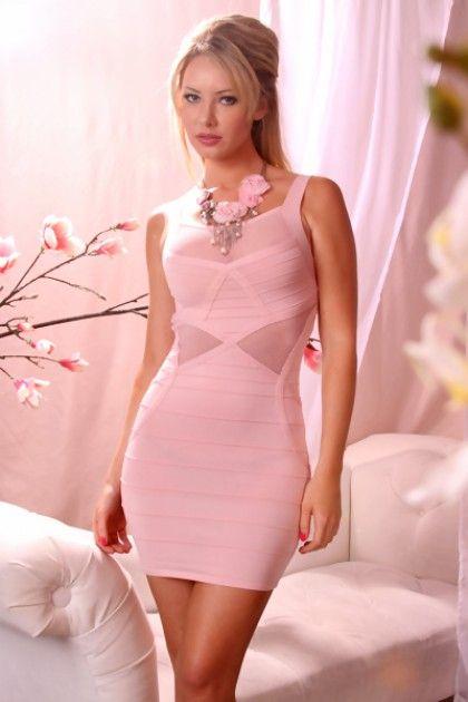 Image result for pink mini dress - Pink - Pinterest