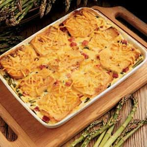 asparagus cheese strata main dish - Cheese Strata Recipes Brunch