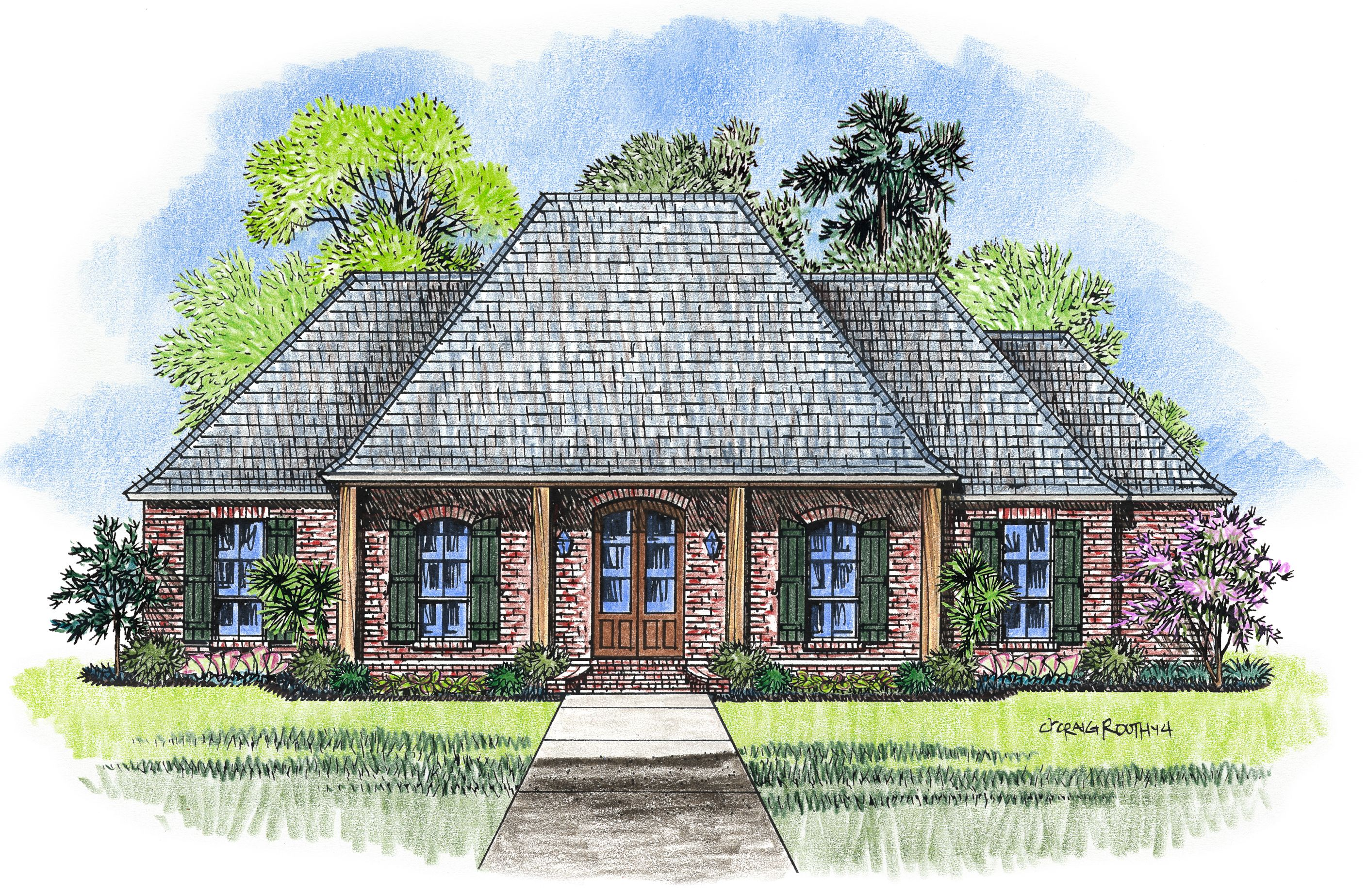 Madden Home Design The Vermillion Acadian House Plans Acadian Style Homes French Country House Plans