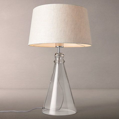 Buy john lewis croft collection abel glass bell table lamp from our desk table lamps range at john lewis
