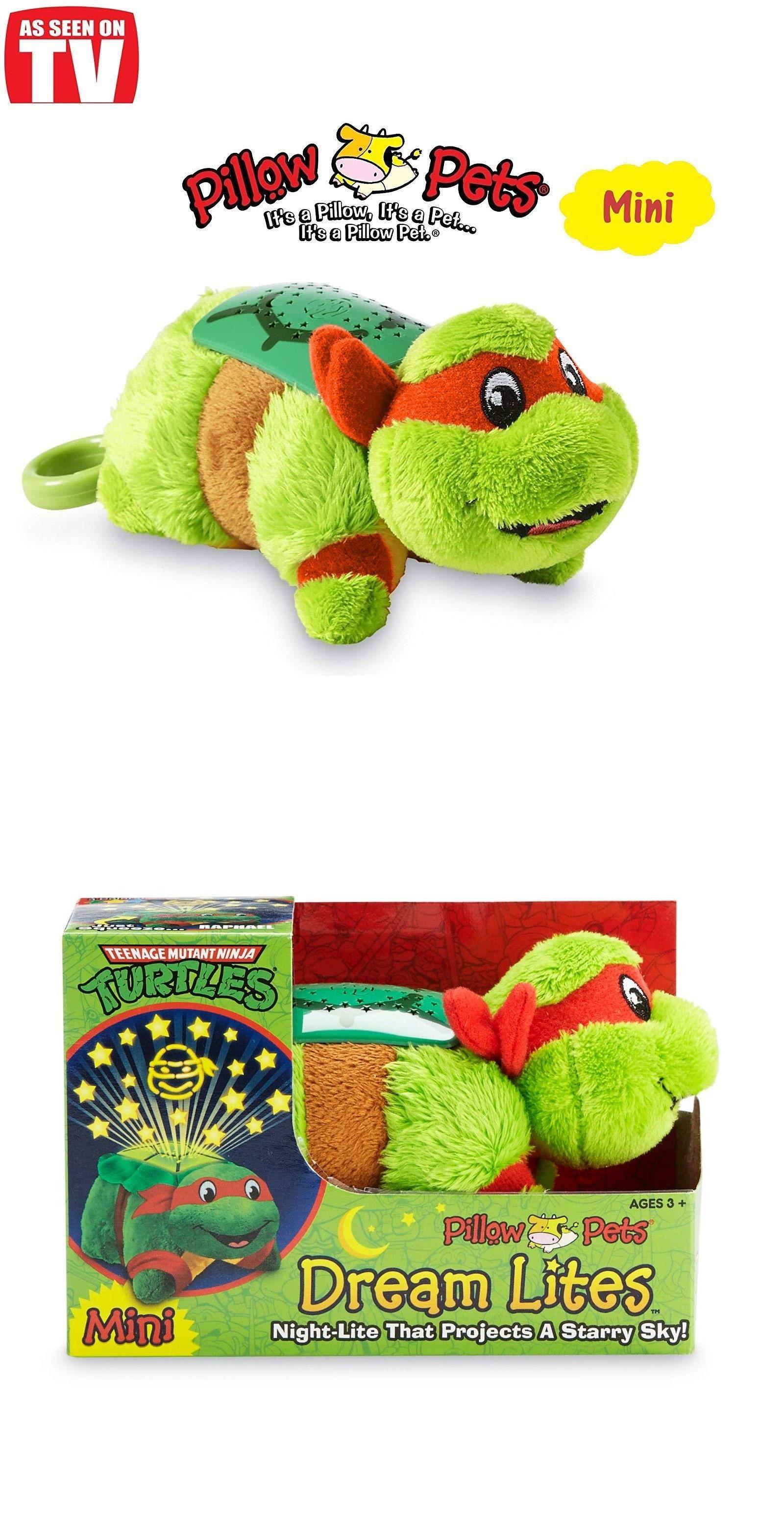 Other Toys For Baby 179013 Teenage Mutant Ninja Turtles Mini Pillow Pets Dream Lites Michelangelo Buy It No Animal Pillows Tv Pillow Donatello Ninja Turtle
