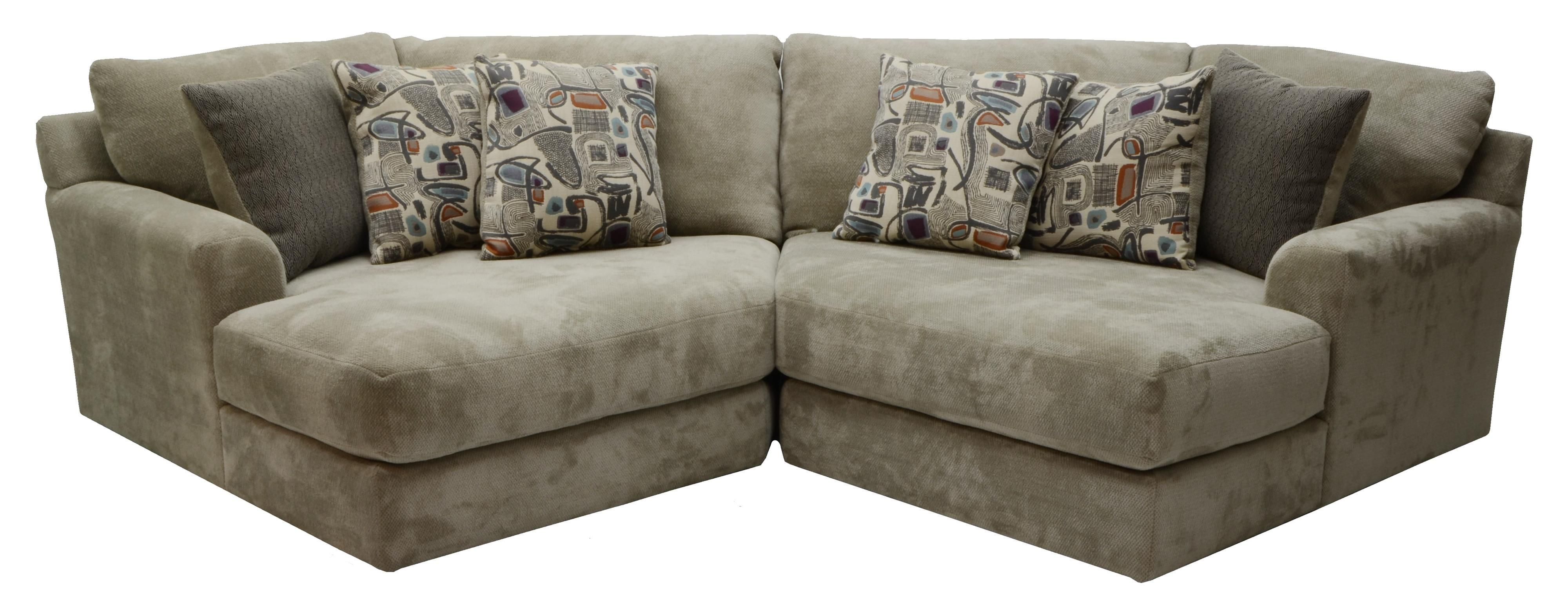 Malibu Two Seat Sectional By Jackson Furniture Sectional Sofa