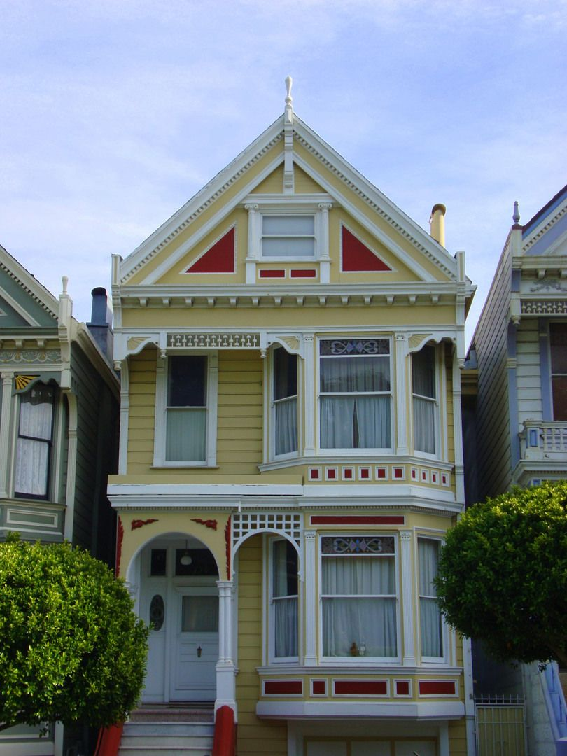 Late victorian era architecture of homes designs color schemes - Coloring Pages Of Victorian Ladies Victorian House By Sergio Veludo In House Painted Ladies