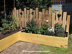 Neues Holz-DIY im Garten
