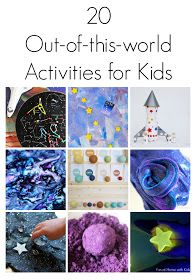 20 Outer Space Themed Activities for Kids is part of Kids Crafts Science Outer Space - 20 Outer Space Themed Activities for Kids