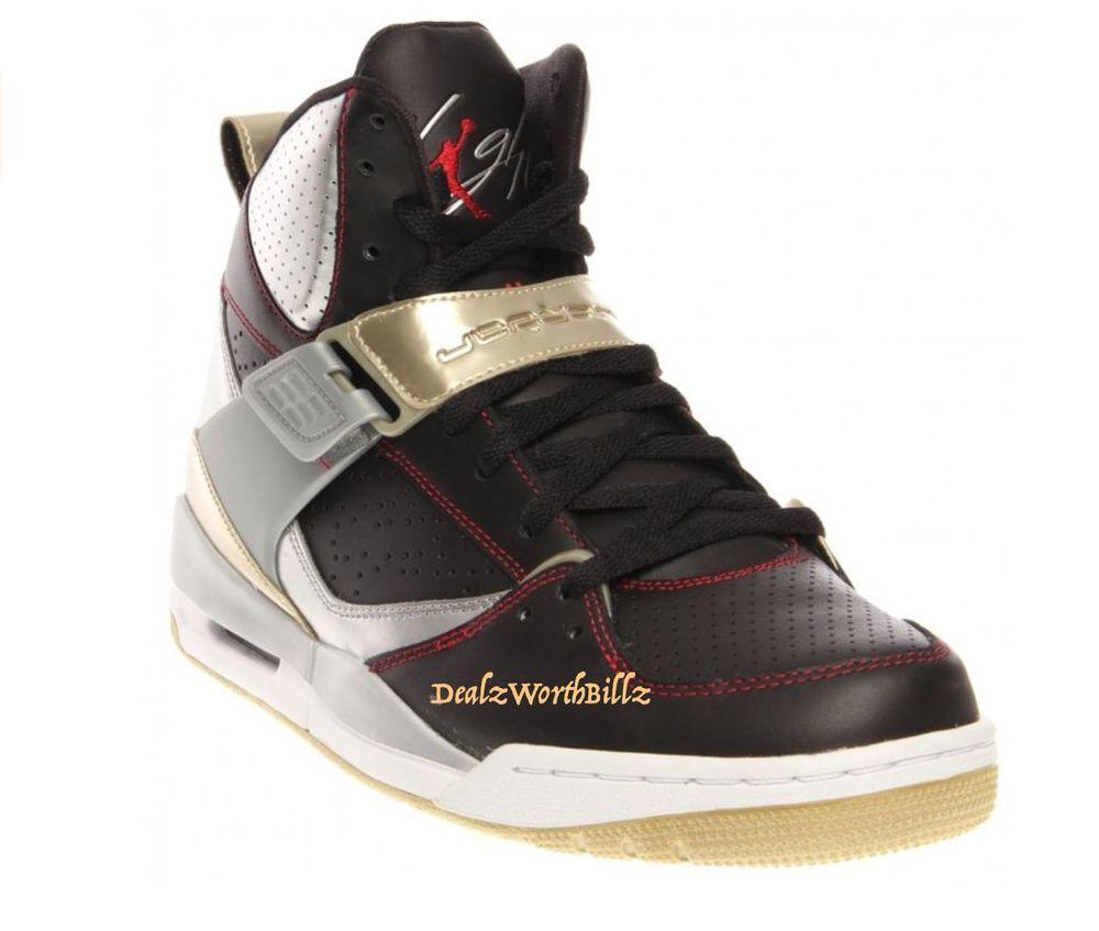separation shoes a4a0c 05f91 men shoes Air Jordan Flight 45 High Black Silver gold gym red size 10.5 new   AirJordan  BasketballShoes