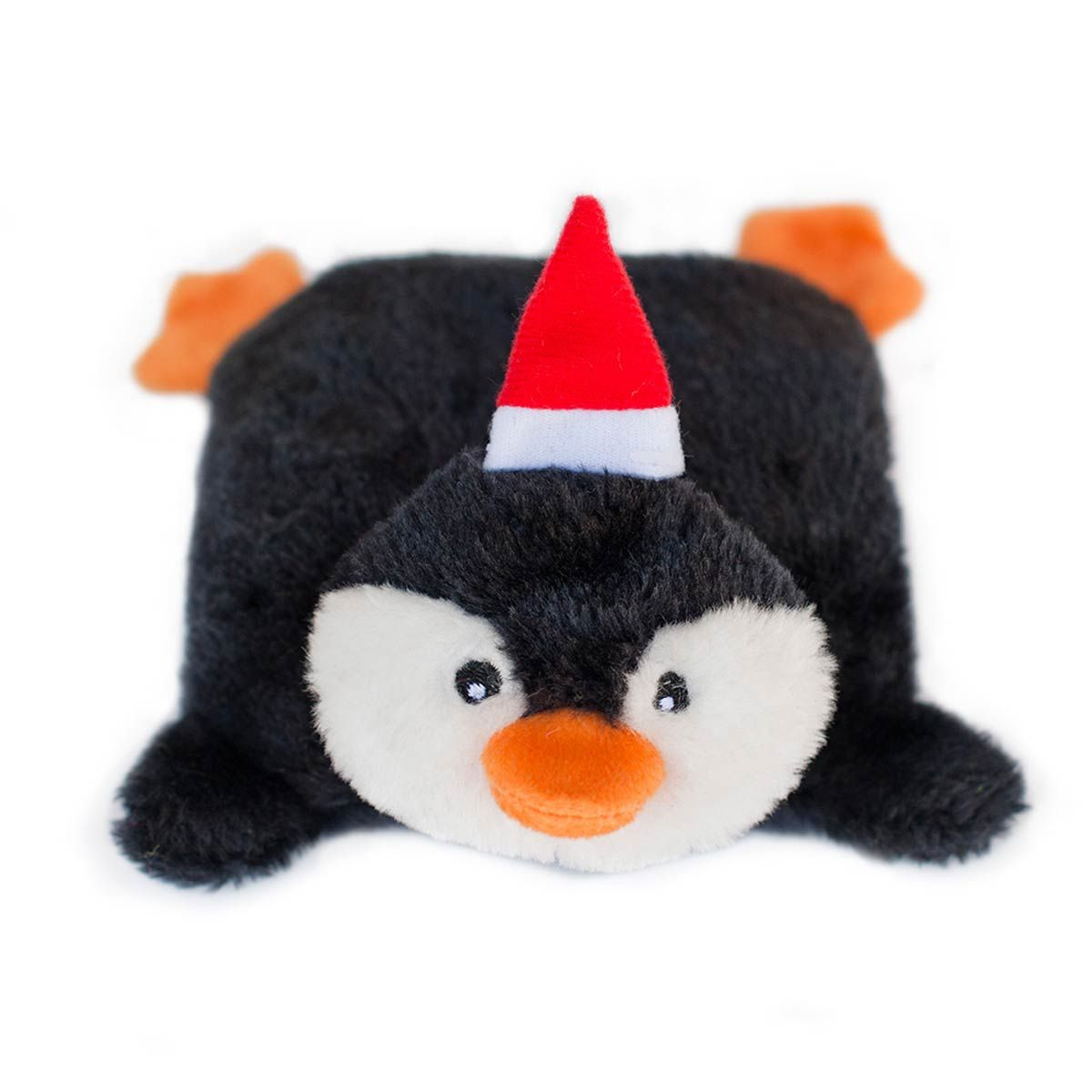 Holiday Squeakie Pad Dog Toy Penguin Christmas Toys Top
