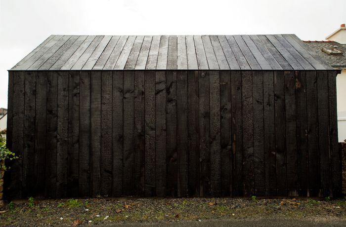 Nem Architectes Maison En Bois Brul 233 Shou Sugi Ban