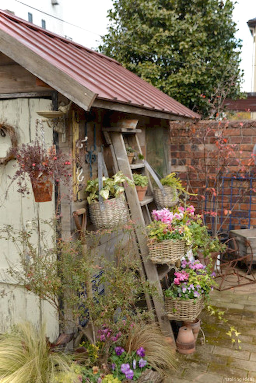 25 Awesome Garden Shed Design Ideas Cottage Garden Rustic