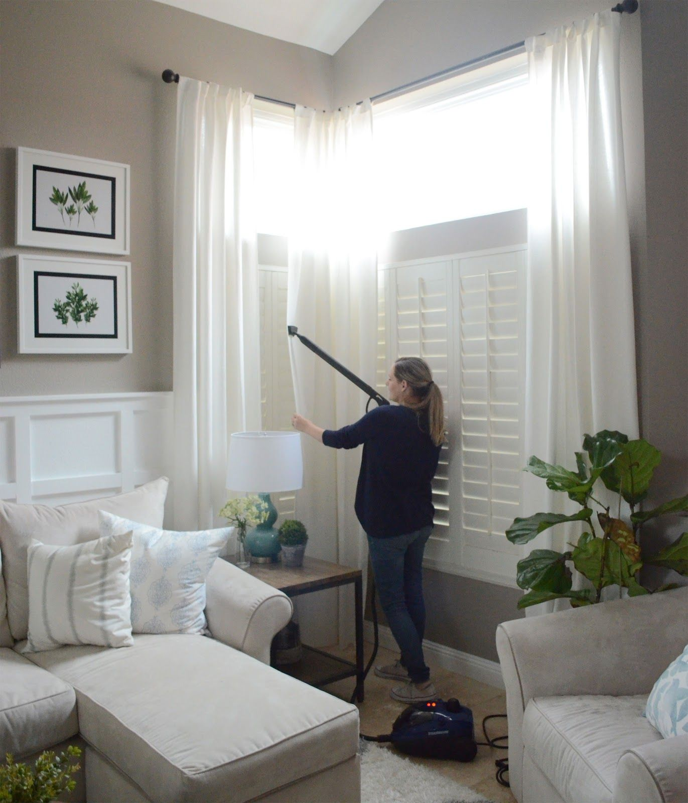 Spring Cleaning Tips How To Steam Clean Your Curtains Steam