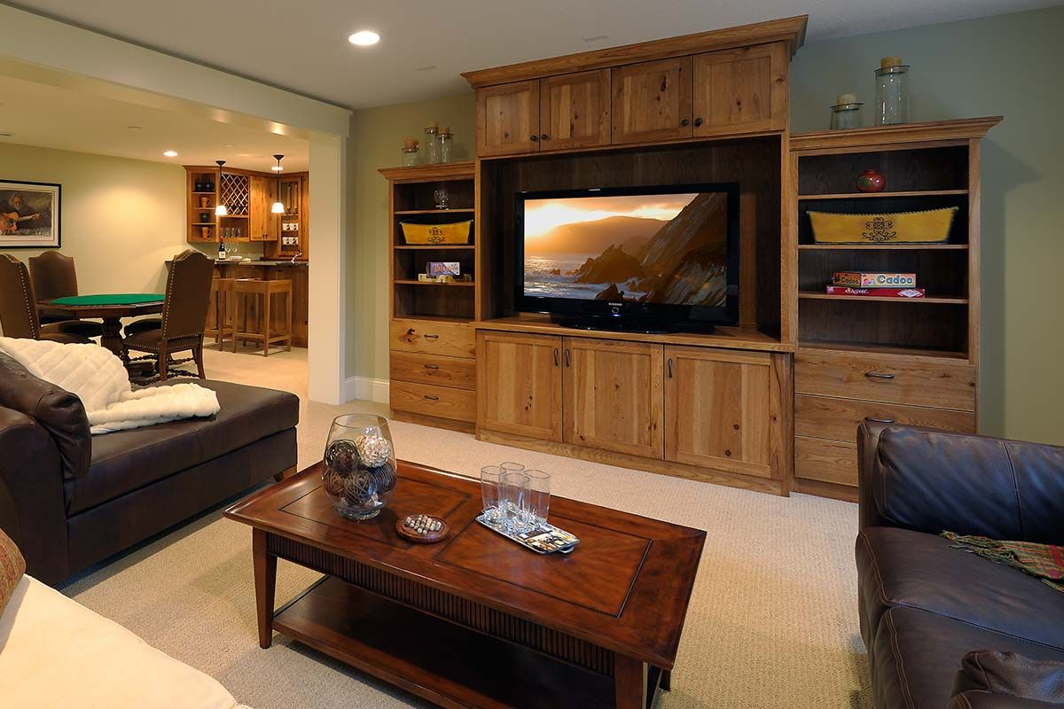 Built In Cabinet Systems For Every Room In Your Home Christian Brothers Cabinets Builtin Cabinets Entertainme Built In Cabinets Home At Home Movie Theater