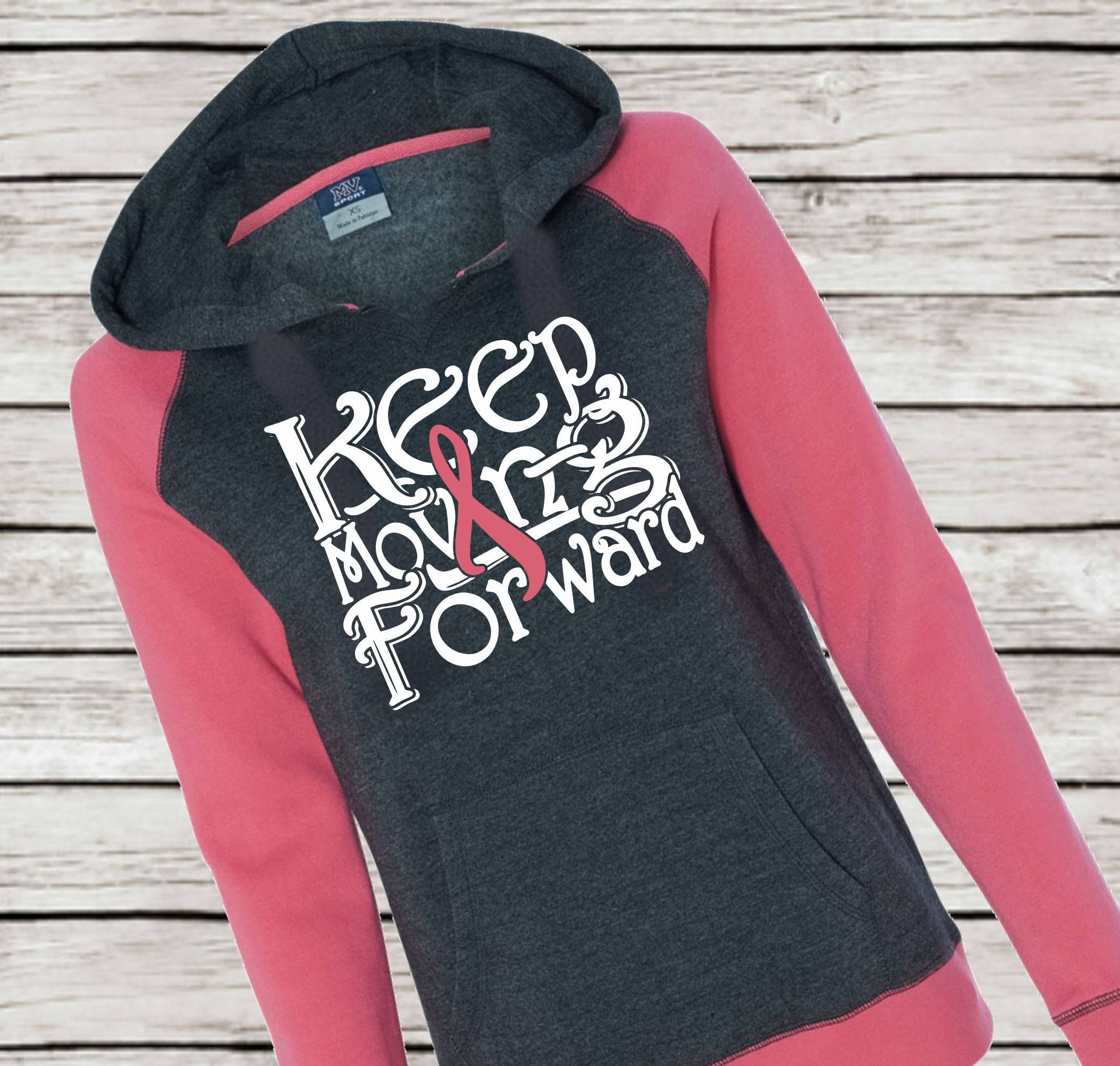 F*ck Cancer Hoodie Fight Breast Cancer Awareness October