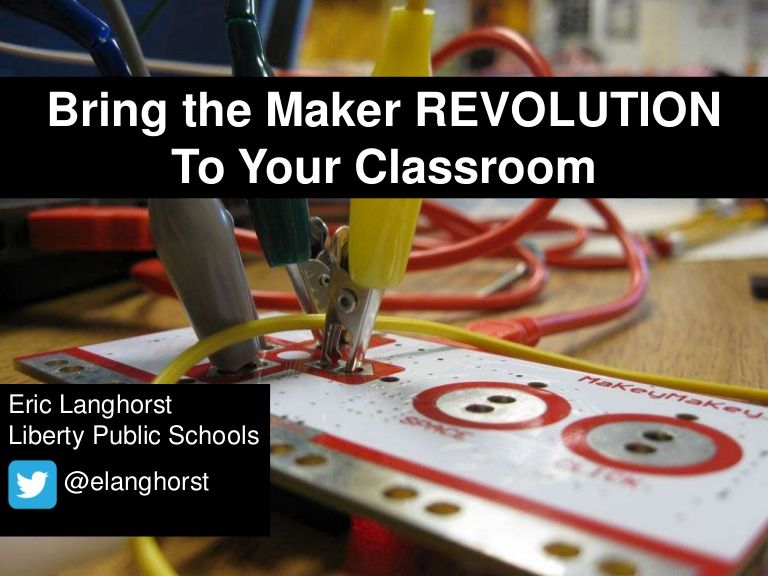 Bring the Maker Movement to Your Classroom