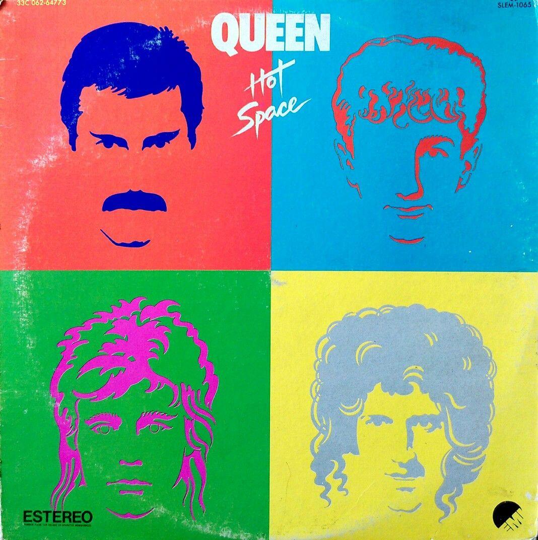 Queen - Hot Space | Mercury | Queen albums, Queen album