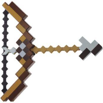 Minecraft Bow Arrow Set By Mattel Minecraft Bow And Arrow Bow And Arrow Set Minecraft