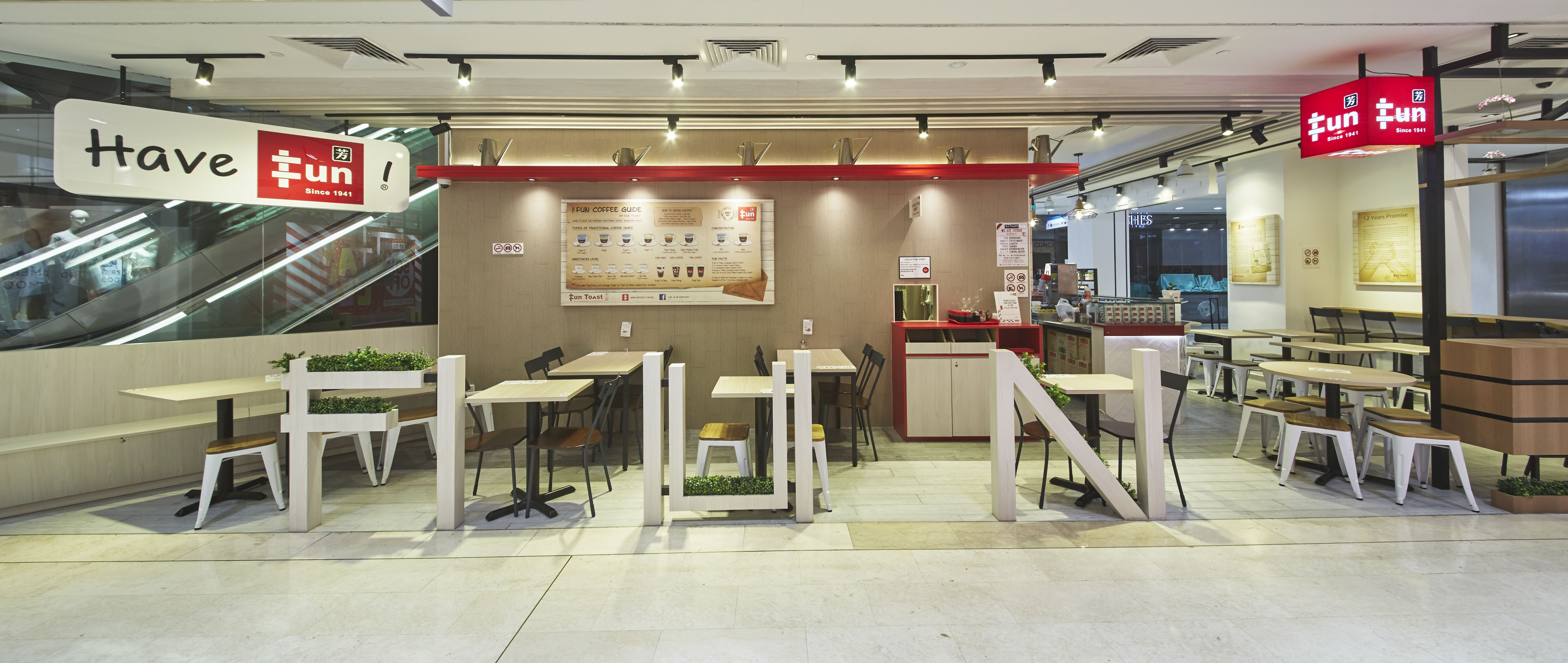 Funtoast Singapore Carpenters Interior Design Commercial Project
