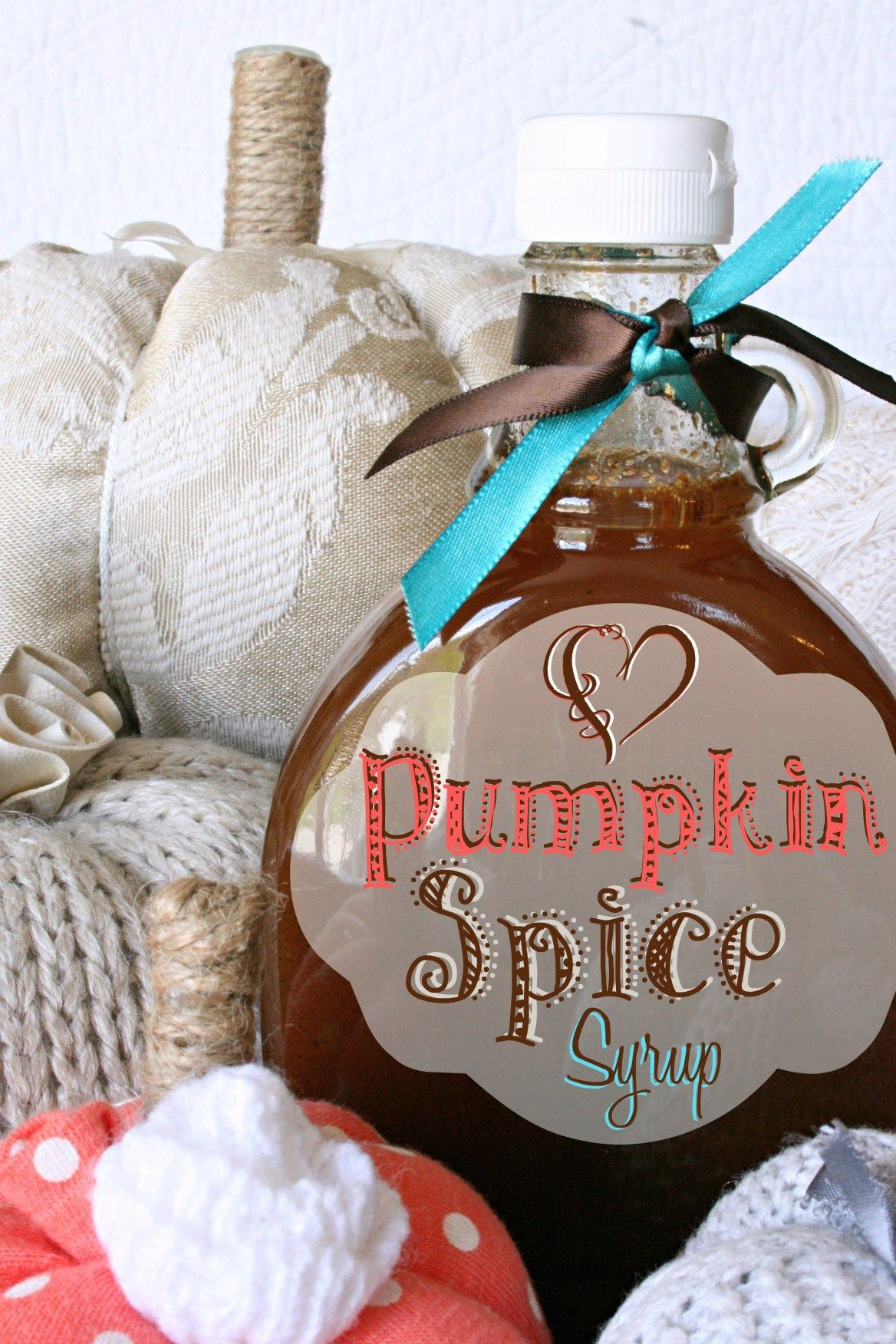 Homemade Pumpkin Spice Syrup Recipe Homemade pumpkin