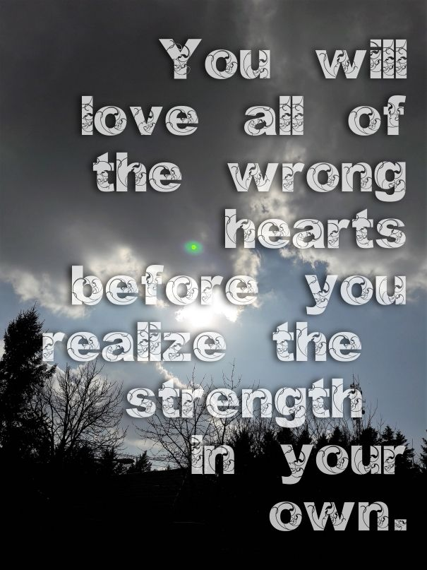 The heart is always the last one to leave the fight   AboutLife ...
