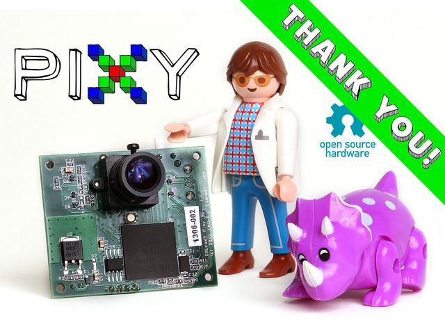 Pixy (CMUcam5): a fast, easy-to-use vision sensor by Charmed Labs and Carnegie Mellon — Kickstarter