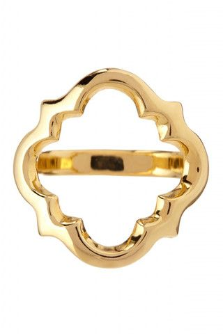 Gold Marrakech Ring - Suz Somersall, $68