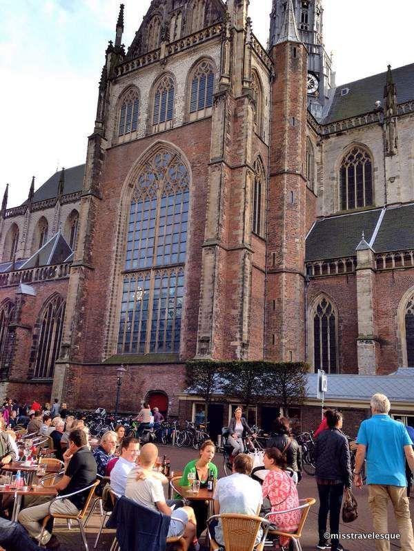 Grote Kerk van St. Bavo in Haarlem, Netherlands