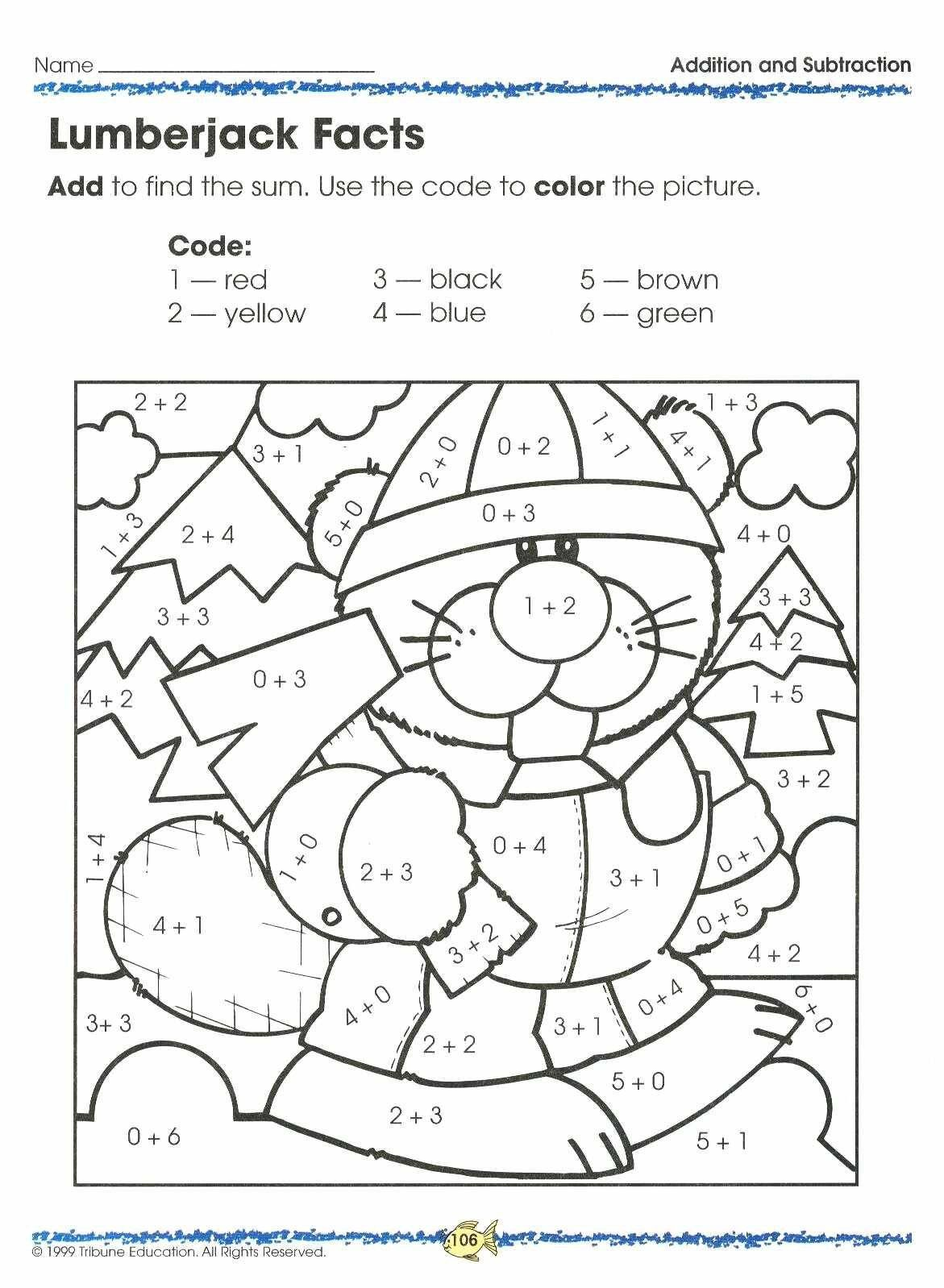 Kindergarten Addition Word Problems Worksheets Addition