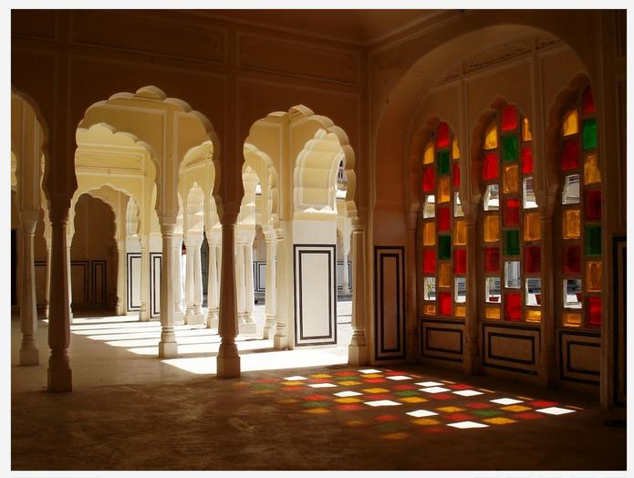 Inside Hawa Mahal, Rajasthan