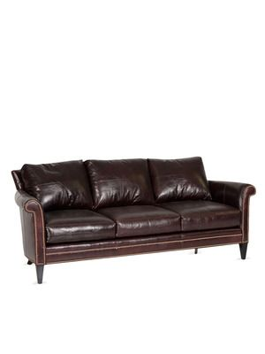 Love this leather sofa Yorkshire Sofa by Ferguson Copeland on Gilt ...