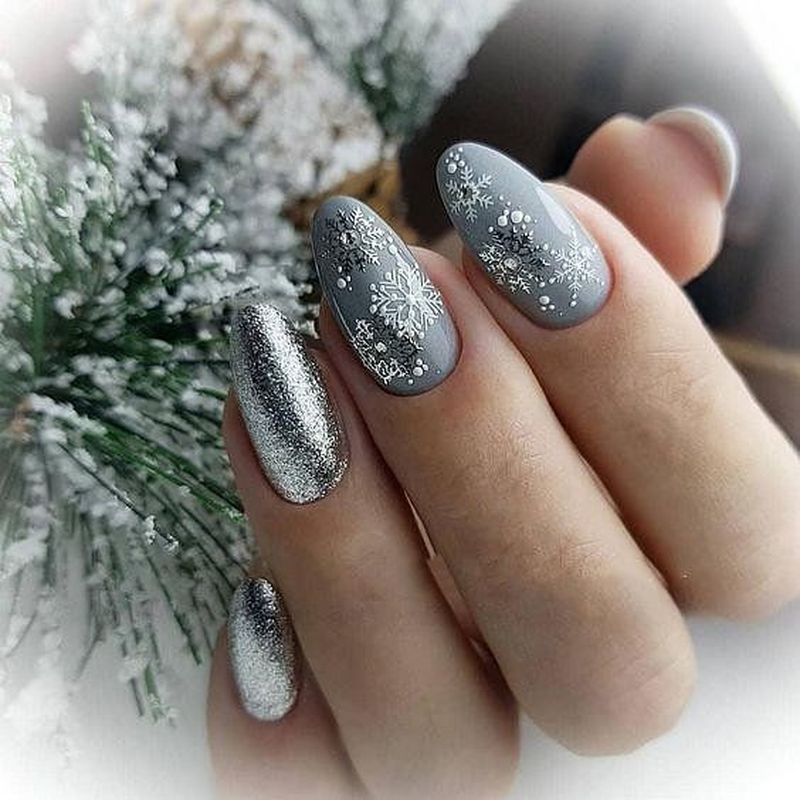 41 Best Winter Nails Design In 2020 Hollywood Nails Christmas
