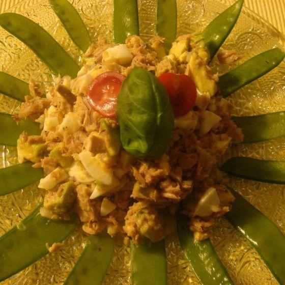 Avocado Thunfisch Salat