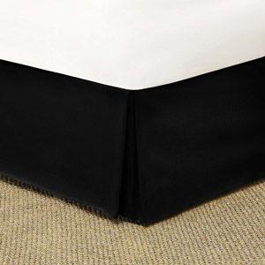 Mainstays Solid Bed Skirt 1 Each Walmart Com Bedskirt Bed