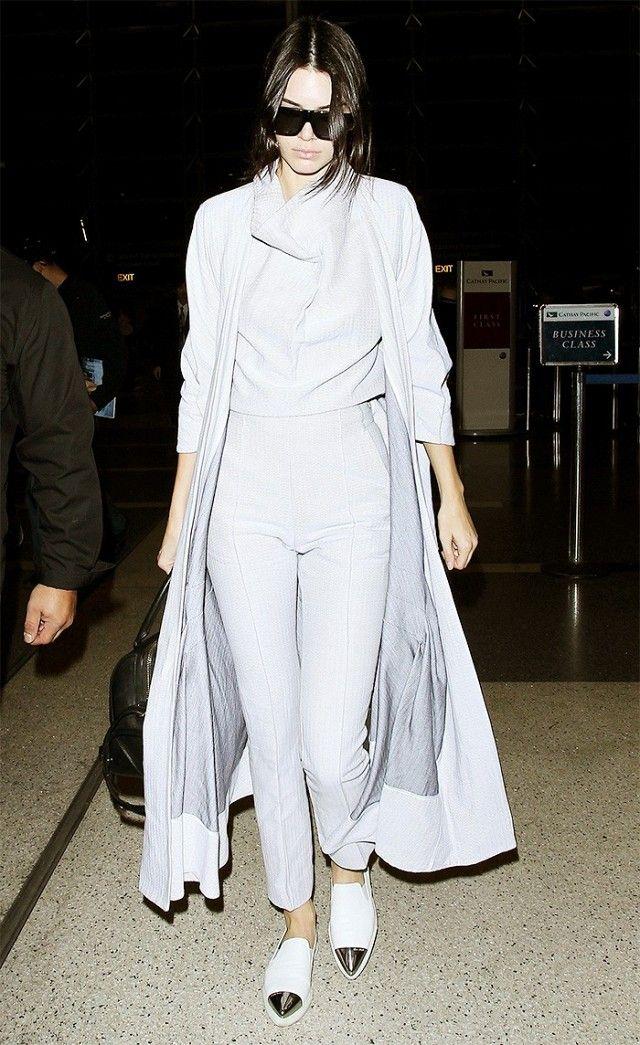 Kendall Jenner | Consejos de moda | Pinterest | Abrigo largo ...