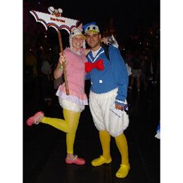 family duck costumes for halloween donald duck daisy duck and baby duck for leah - Diaper Costume Halloween