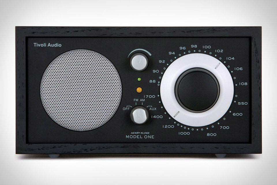 Tivoli Model One Radio Tivoli audio, Model one, Audio