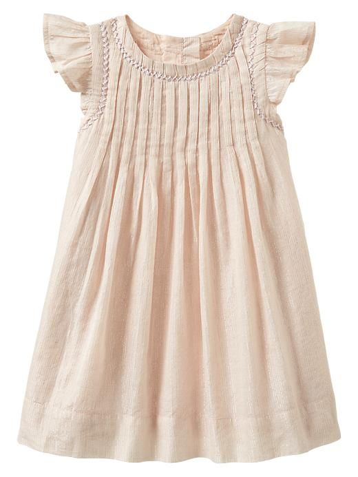 4ec461a66dcc9 Lurex pleated dress | Gap | clothes for girls | Baby girl dresses ...