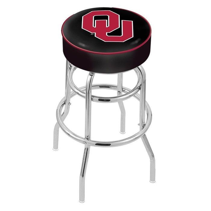 "Oklahoma Sooners 4"" Seat Bar Stool"