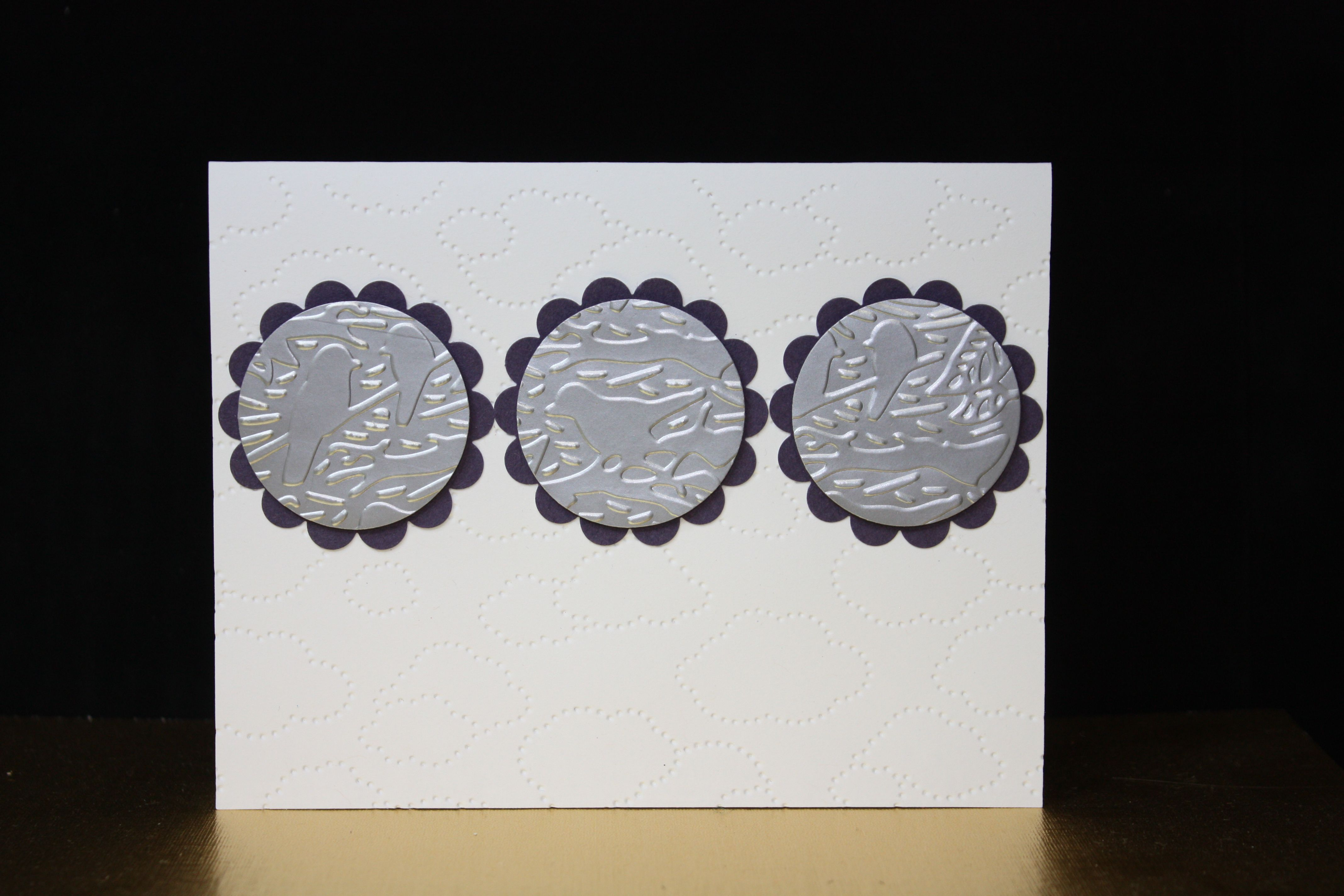 Embossing folders and punches