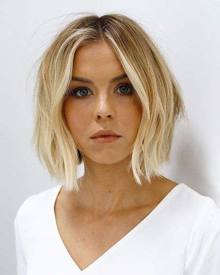 38 Blonde Bob Frisuren Hairstyles 2019 In 2020 Bob Frisur Bob Frisuren Blond Beliebte Kurzhaarfrisuren