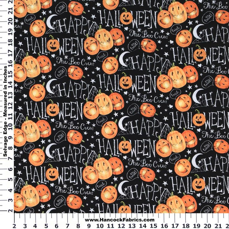 Decorate your home with our extensive collection of Halloween fabrics and accessories!