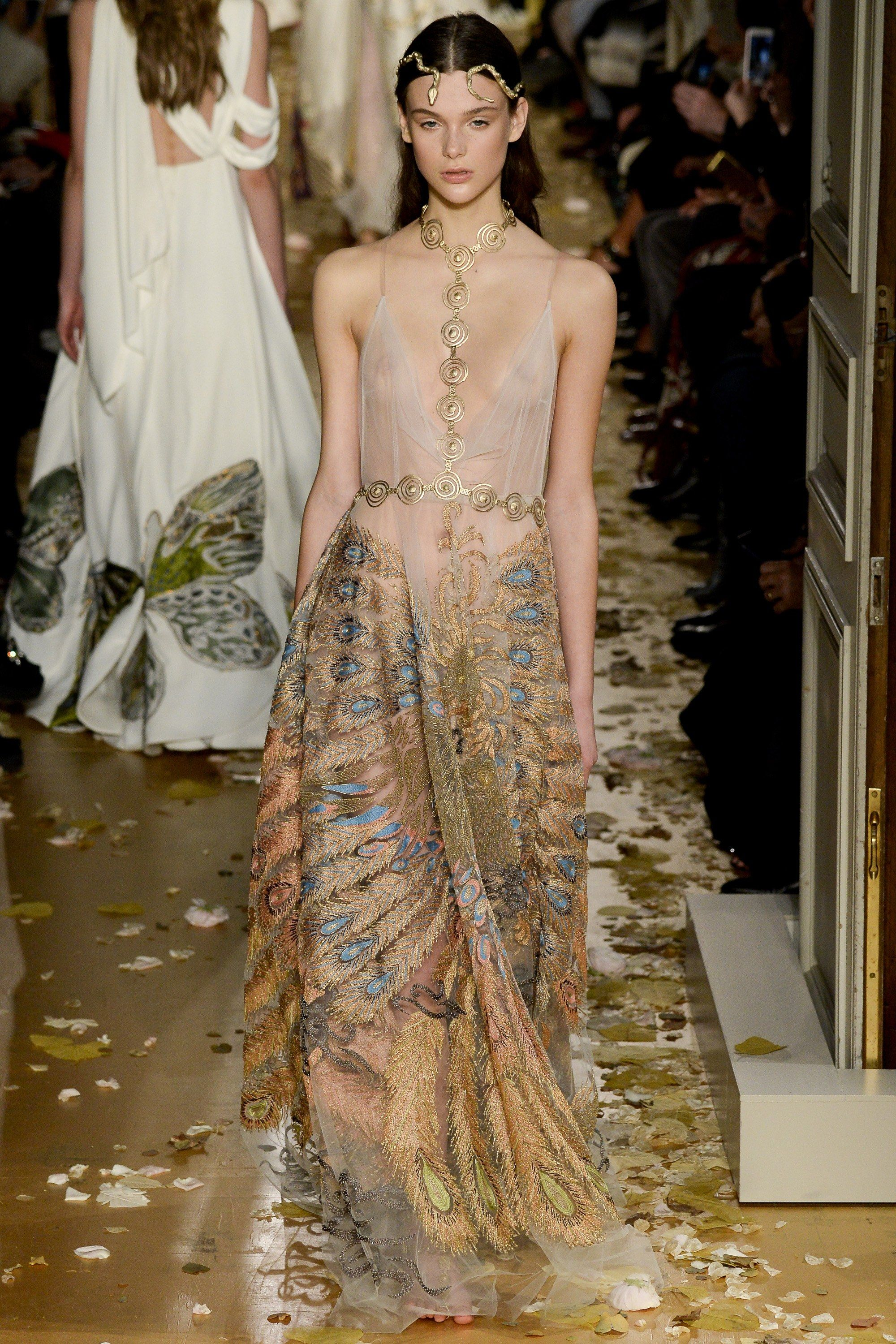 Valentino spring couture fashion show spring couture