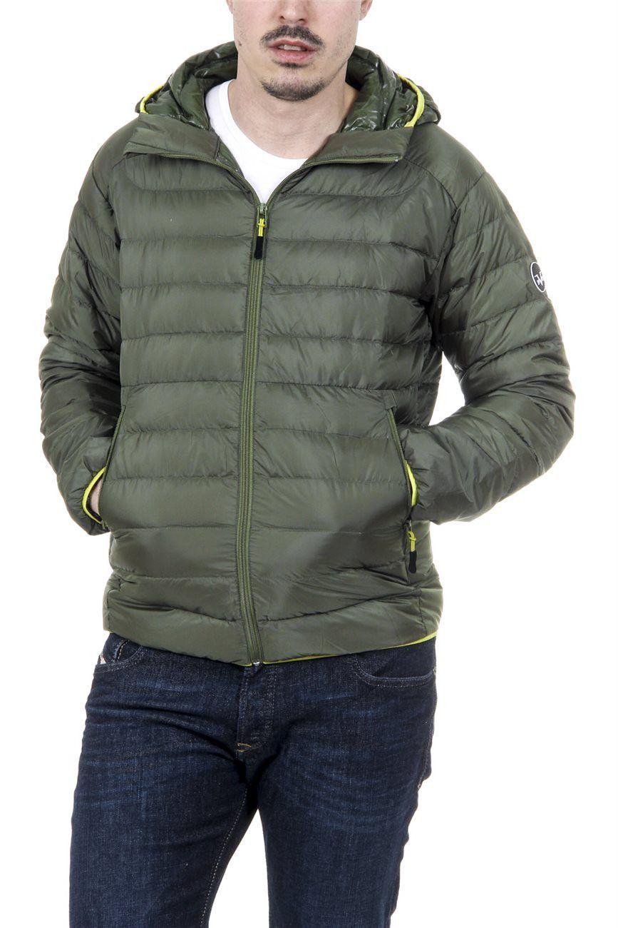 ae857119f37a Versace 19.69 Abbigliamento Sportivo Milano Italia Mens Down Jacket ARTICO  ARMY GREEN